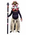 Afrikaans stamhoofd kostuum met masker