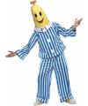 Herenkostuum bananen in pyjamas