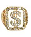 Big Daddy grote ring dollar teken
