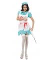 Griezelige verpleegster kostuum