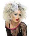 Blonde jaren 80 pruik Madonna look