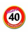 40 jaar buttons