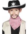 Zwarte coboy hoed met ster