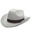 Sheriff hoed wit volwassenen