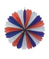 Decoratie waaier Nederland 60 cm