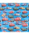 Disney blauw cadeaupapier Cars