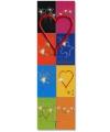Taart decoratie sterretje hart