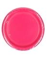 Wegwerp borden fuchsia roze 23 cm