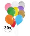 Zakje met 30 gekleurde ballonnetjes