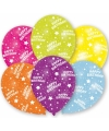 Verjaardag ballonnen 6 stuks