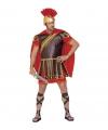 Romeinse tijd kostuum rood-bruin