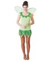 Elf kostuum groen voor dames