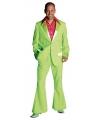 Lime groen disco kleding voor heren