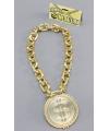 Rapper gouden ketting met dollar