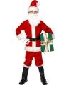 Kerstman deluxe kinder kostuum