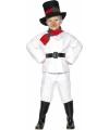 Kinder kostuum sneeuwman