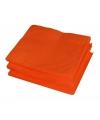 Set van 20 oranje servetten