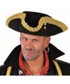 Zwart met gouden markies hoeden