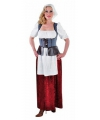 Dienstmeisje kostuum voor dames