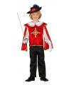 Musketiers kostuums jongens