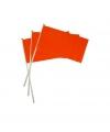 Holland zwaaivlaggetje oranje