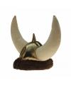 Feest vikinghelm pluche voor volwassenen