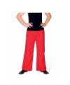 Rode broek voor heren