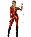 Strakke rode dames catsuits