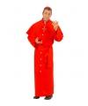 Bisschop kostuum in het rood