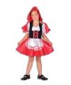 Roodkapje jurk voor meisjes