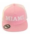Miami pet roze met grote klep