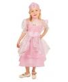 Roze kinder prinsessen jurken