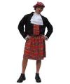 Schotse verkleedkleding heren