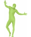 Second skin kostuum groen