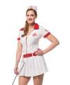 Carnaval verpleegster jurkje dames