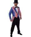 Slipjas Amerika Stars and Stripes voor heren