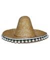 Stro sombrero 60 cm voor volwassenen