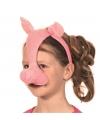 Varkens feest masker met geluid
