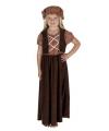 Oliver Twist meisjes kostuum
