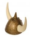 Helm Viking goud met spijkers