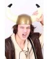 Gouden vikingen helm