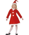 Rood kerst outfit voor meisjes