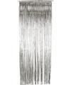 Deur gordijnen zilver 244 cm