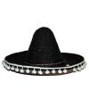 Zwarte sombrero 60 cm voor volwassenen